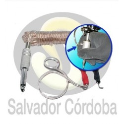 Clip cord con anillo (actúa como pedal)