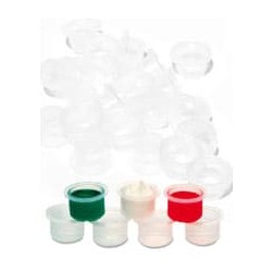 Contenedores desechables estériles (25x2 uds)