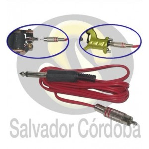 Clip cord conexión RCA