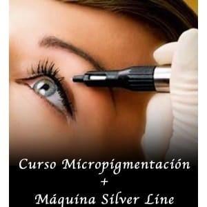 Curso Micropigmentación + Máquina Silver Line