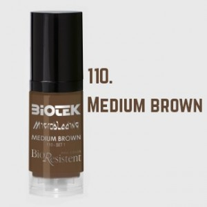 Biotek Microblading 110 Medium Brown