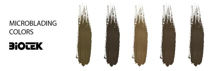 Pigmentos Microblading